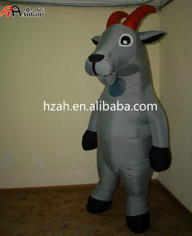 Advertising Decoration Inflatable Goat Mascot Costume - Buy Inflatable Goat Mascot CostumeInflatable Sheep Mascot CostumeInflatable Mascot Costumes ... & Advertising Decoration Inflatable Goat Mascot Costume - Buy ...