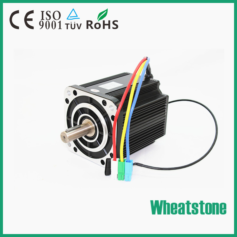 High Torque 96V 5000W 3000RPM brushless dc motor With High effiency