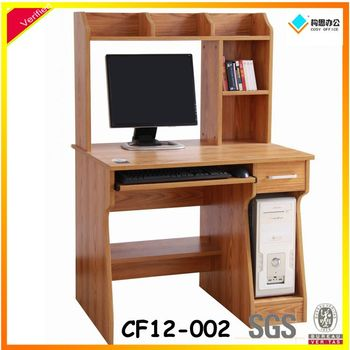 Lecong Wooden Computer Shelf Simple Computer Table Design