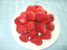 Different varieties IQF strawberry