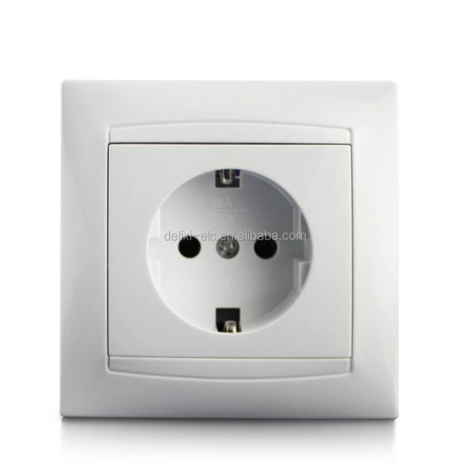 Multi Outlook Low Price recessed wall socket usb Usb Schuko Socket