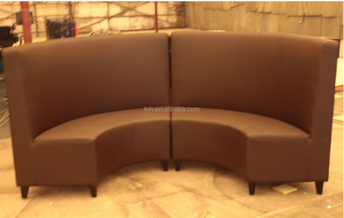 Half Round Restaurant Booth Sofa (FOHRT 4)