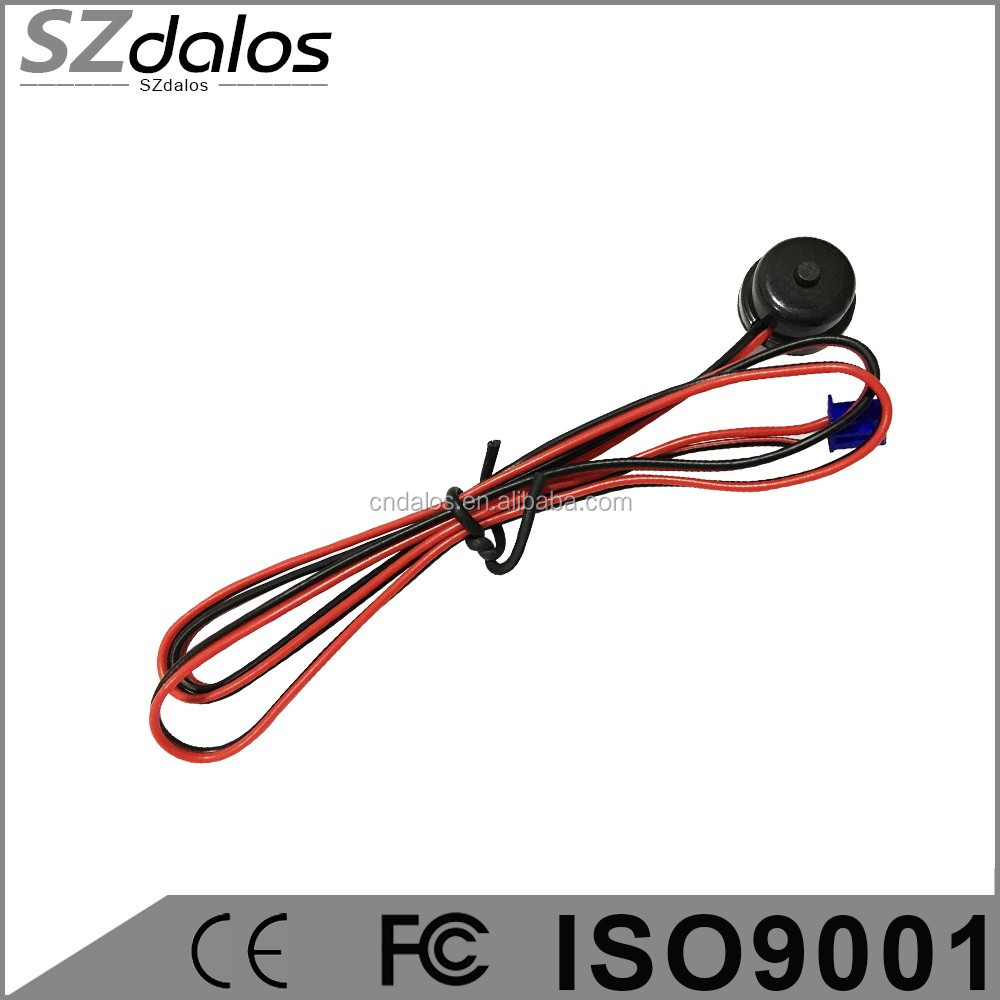 DLS Easy install One way car alarm system genius car alarm with universal remote and speaker for south america market