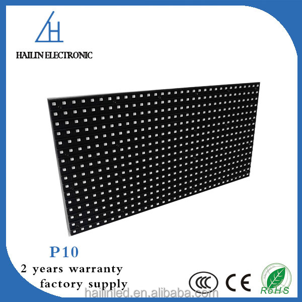 full sexy video 1080p full color p10 outdoor led module with 320*160 module size