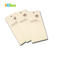 Customized Carment Paper RFID Hang tags for kids clothing