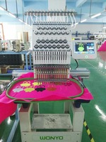 Computerized Single Head Embroidery 12/15 Needles Cap Embroidery Machine prices