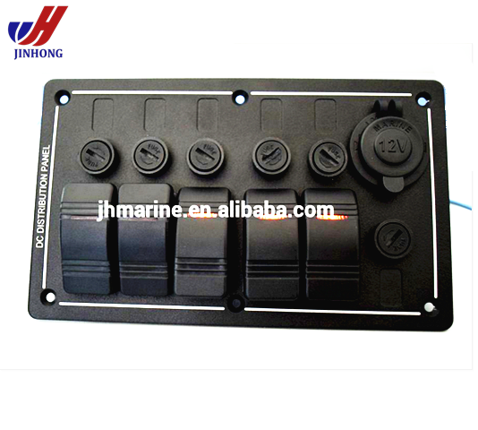 5gang Marine Circuit Breaker Racing Switch Panel & Power Socket - Buy  Marine Breaker Panel,Marine Circuit Breaker Panel,Racing Switch Panel  Product on