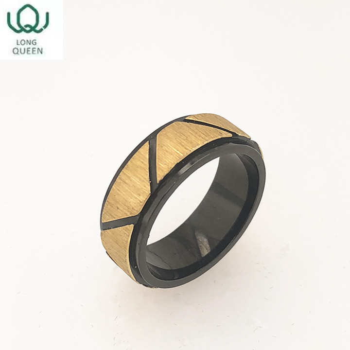 Street style fashion simple puzzle ring for men and women can be customized