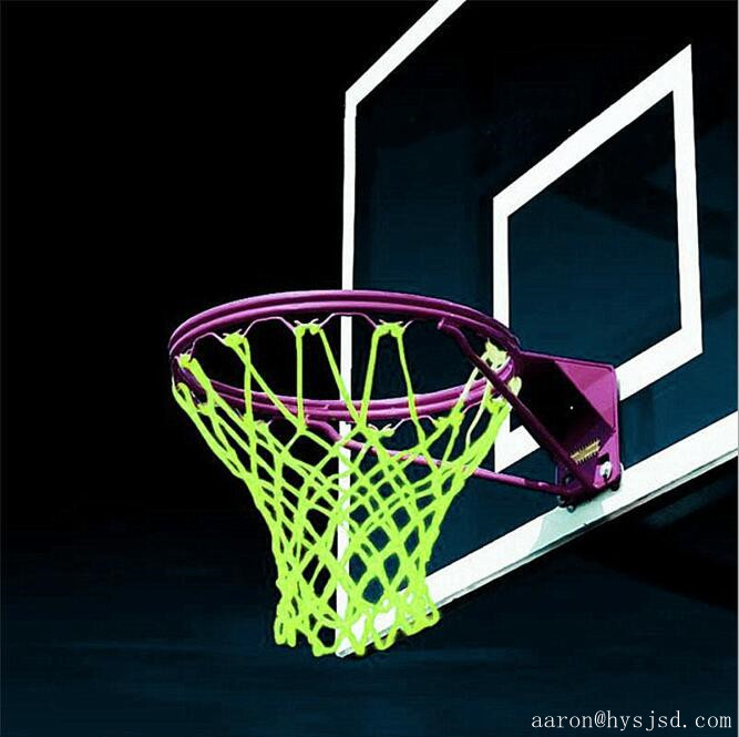 Sports Amazing Glowing Light Sun Power Luminous Basketball Hoop Net