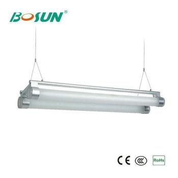 Aluminium Alloy 2x28w T5 Hanging Fluorescent Light Fixtures - Buy ...
