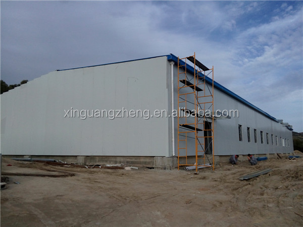 fast installation professional steel structure shed design