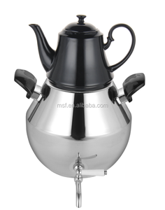 2018 Newest 6L Double tea kettle/high quality stainless steel twin kettle set MSF-2703