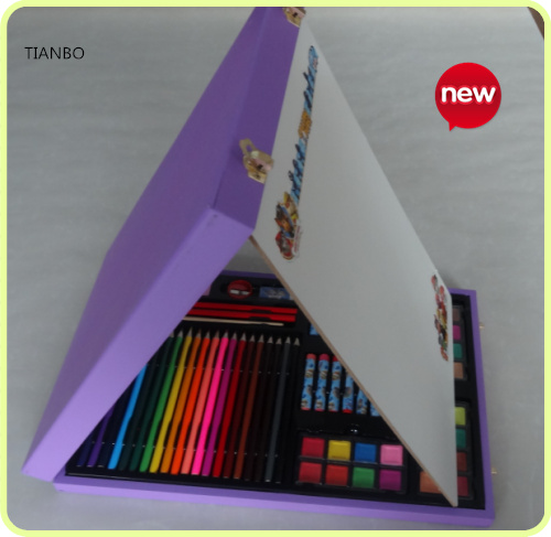 Children's easel art set with drawing tools 2017 New