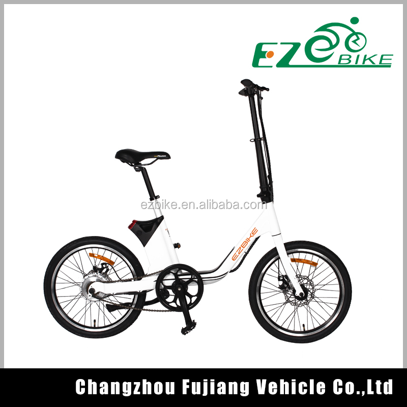 2016 Most popular li-ion battery ebike mini electric bike folding
