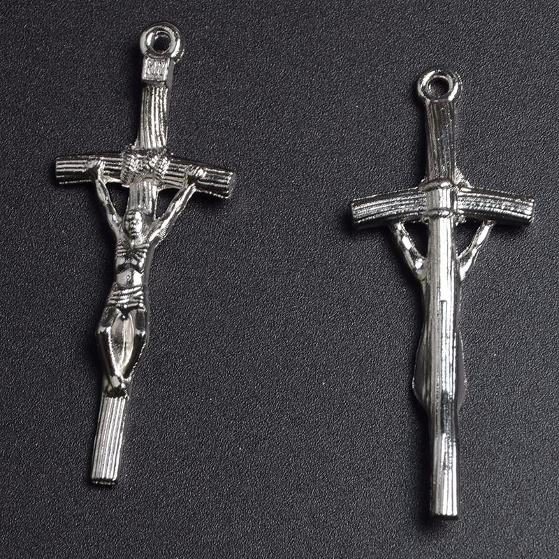 Yiwu factory custom making catholic crucifix cross alloy jesus cross yiwu factory custom making catholic crucifix cross alloy jesus cross papal crucifix pendant for rosary mozeypictures Gallery