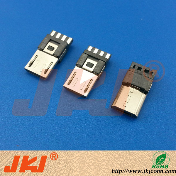 electronics supplies connectors micro usb male pcb connector