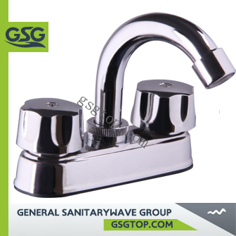 "Tap GSG PF141 popular basin faucet bathroom&kitchen chrome sink faucet Watermark Wels approved 4"" ABS faucet"