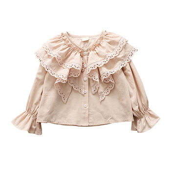 Girls Spring Shirt 2019 Girls Clothes Teenage School  For Girls Children Clothing Kids Clothes