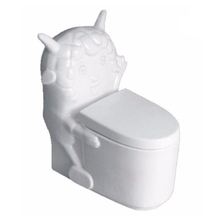Modern colorful children sanitary wares ceramic kindergarten toilet
