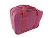 pink handle cosmetic bag for girl / multilayer travelling toiletry bag for traveller / big shoulder cosmetic bag for lady