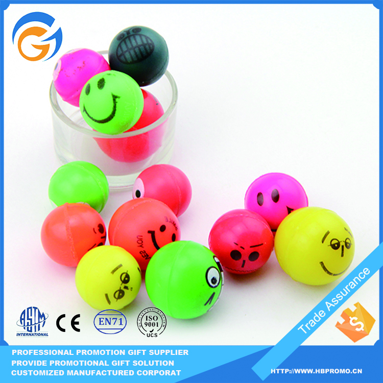 2015 Promotional toys bouncy ball bouncing ball for vending machine