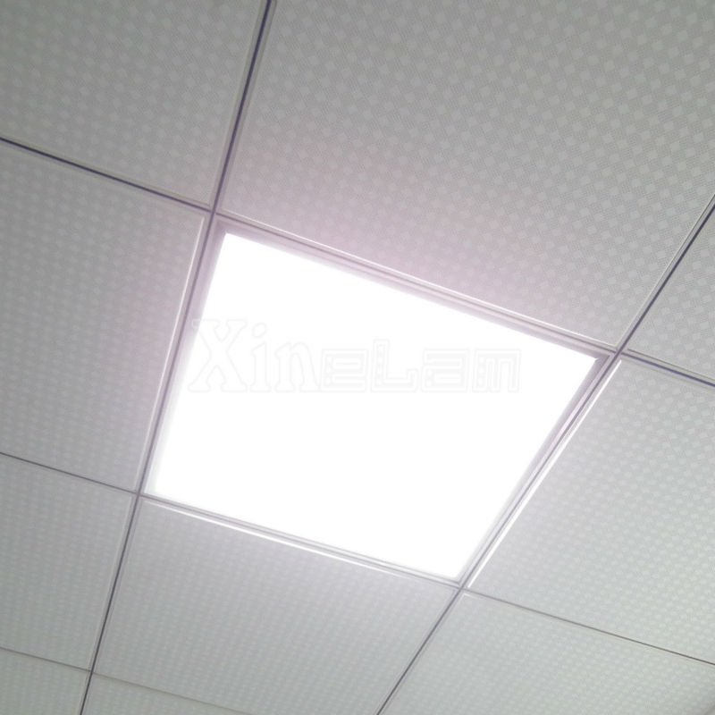 High Power Lumens 90lm W Led Recessed Troffer Panel Light Ceiling Drop