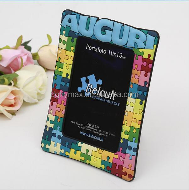 OEM fancy colorful puzzle funny photo frame