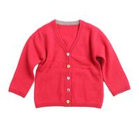 2019 Hot Sell Wholesale High Quality Long Sleeve Children's Cashmere Cardigan