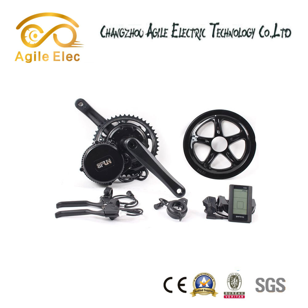 Good quality bbs01 250w mid drive motor e bike kit for promotion