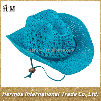 New Designed Custom Oem Kids Straw Paper Cowboy Hat ...