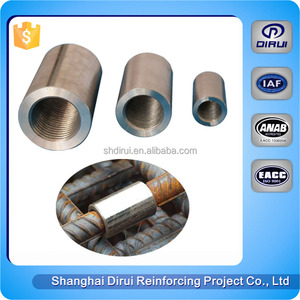 Coupler machine bolted rebar coupling tie rod connector