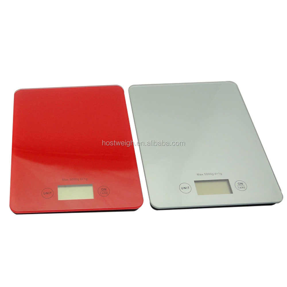 square platform for food, fruit, vegetable mini digital portable body weight scale