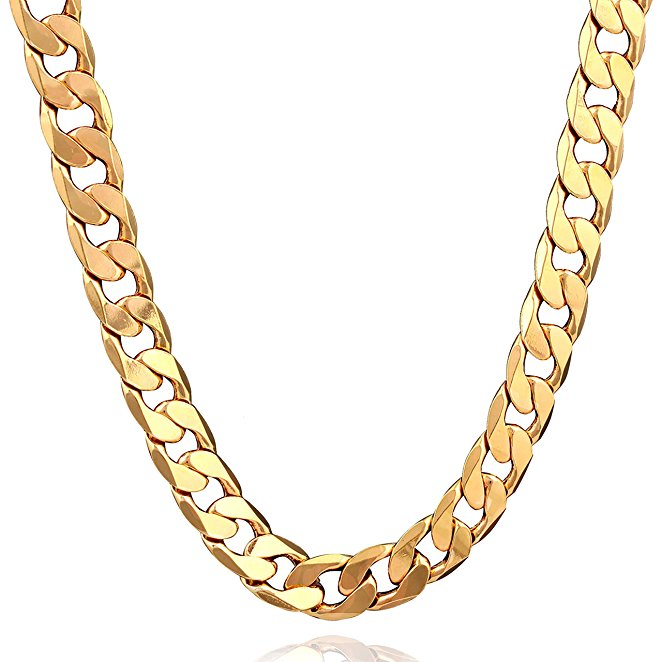 Figaro Punk Style Jewelry Turkey Gold Chain 18k Gold Necklace For Men - Buy  Figaro Punk Style Jewelry,Turkey Gold Chain,18k Gold Necklace For Men