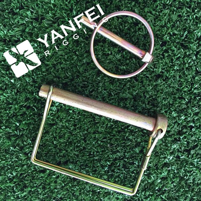 Scaffolding Snap Pin : Quot x yellow zinc snap lock pin for scaffolding