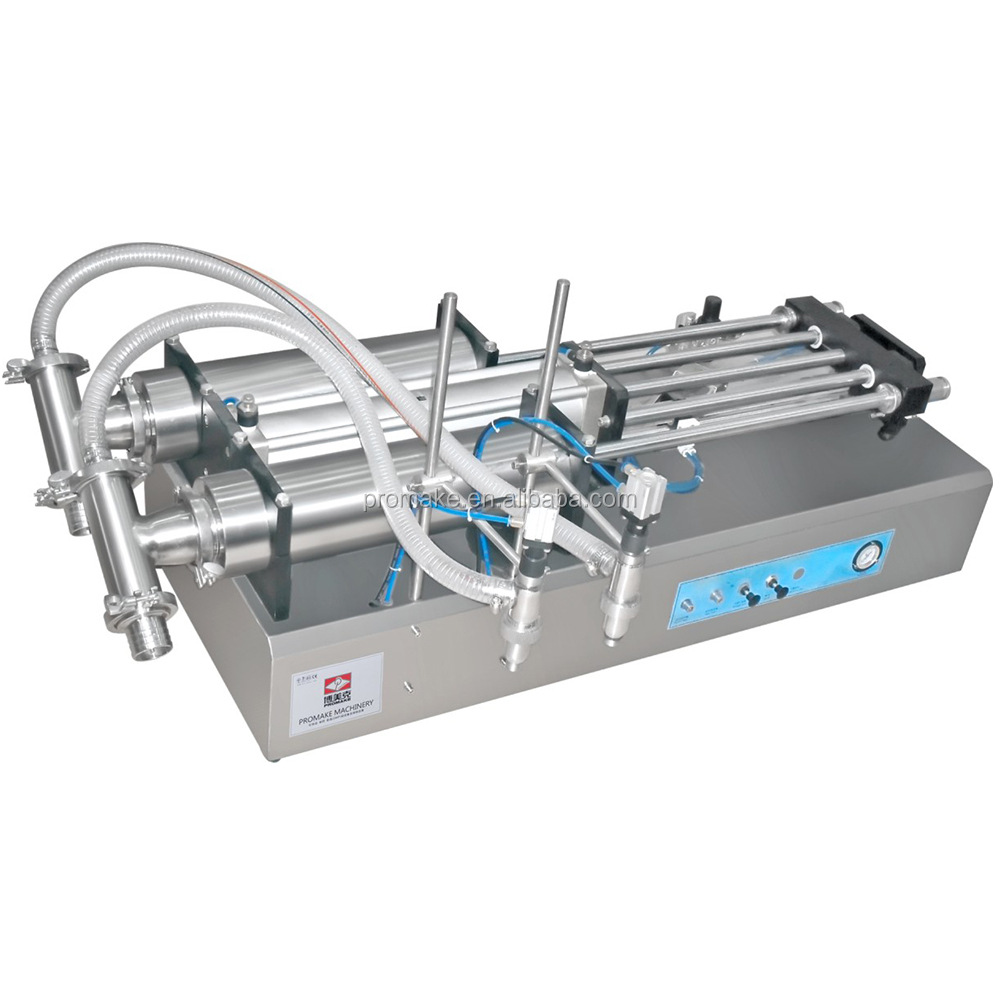 50-500ml pnuematic self-suck filling machine for shampoo