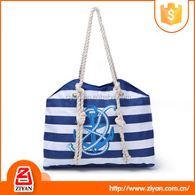 New products fashionable women PVC plastic beach tote bag