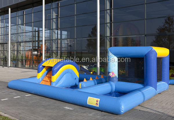 inflatable kids playzone seaworld Water used bouncer