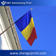 UV Resistant waterproof country blue yellow red flag