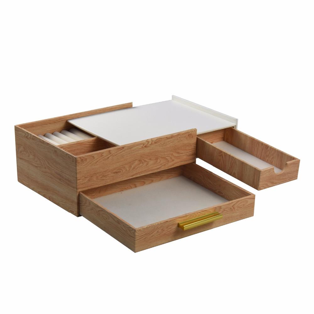 تخصيص اليدوية فعالة من حيث التكلفة الخشب الحبوب صندوق مجوهرات