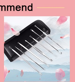 5 Pcs Surgical Stainless Steel Satisfying Blackhead Removal