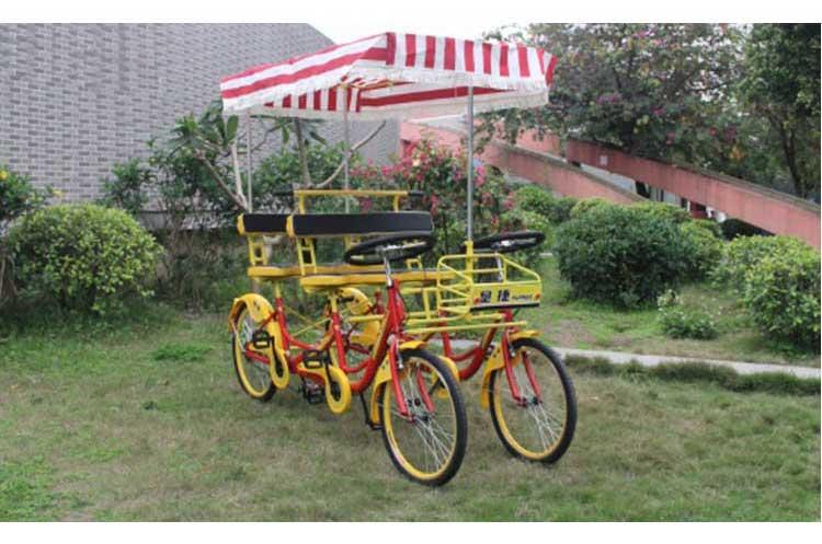 neue stil 4 sitzer vierr drige 4 personen surrey fahrrad. Black Bedroom Furniture Sets. Home Design Ideas