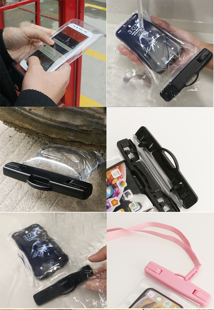 Factory Custom  IPX8  Waterproof Phone Case for Outdoor Sport