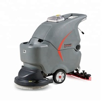 Scrubber equipment concrete single Brush floor tile washing cleaning machine with disc brush
