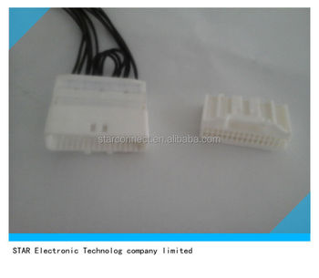 manufacturer radio wire sorcket 32 pin female wire connector, view 4 Pin Connector Wiring Harness manufacturer radio wire sorcket 32 pin female wire connector