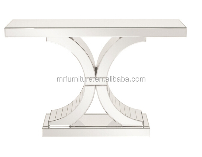 Awesome Hot Selling Double C Mirrored Hall Table/side Table/console Table   Buy Hot  Selling Double C Hall Table,Mirrored Side Table,Hot Selling Mirrored Dining  ...