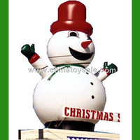 Cute christmas inflatable cartoon inflatable snow man cartoon/Chiristmas giant inflatable Best Price