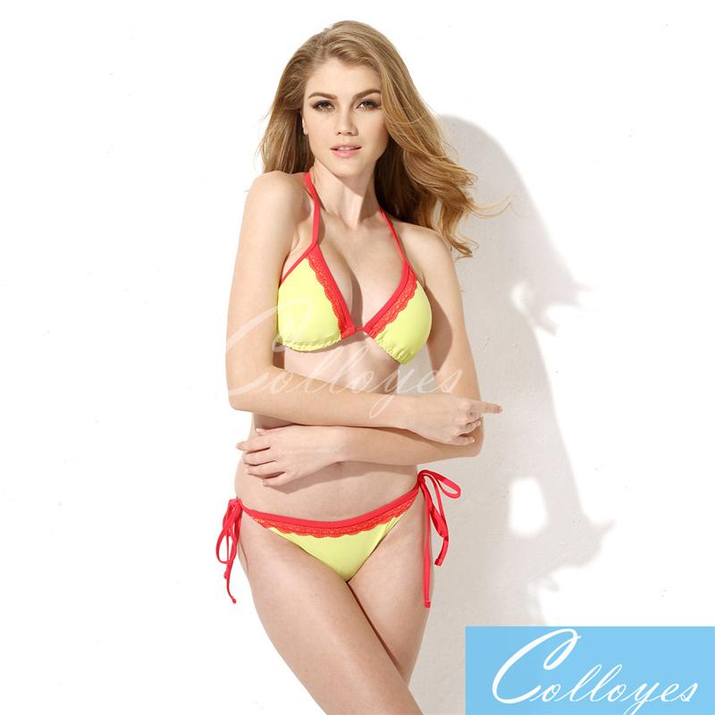 7beed5dbcb Sexy Swimwears Triangle Women's Fashion Bikinis Hot Sale Sexy Swimsuit  Bikini Set
