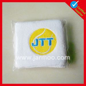 sports cheap promotional cotton spandex wristband