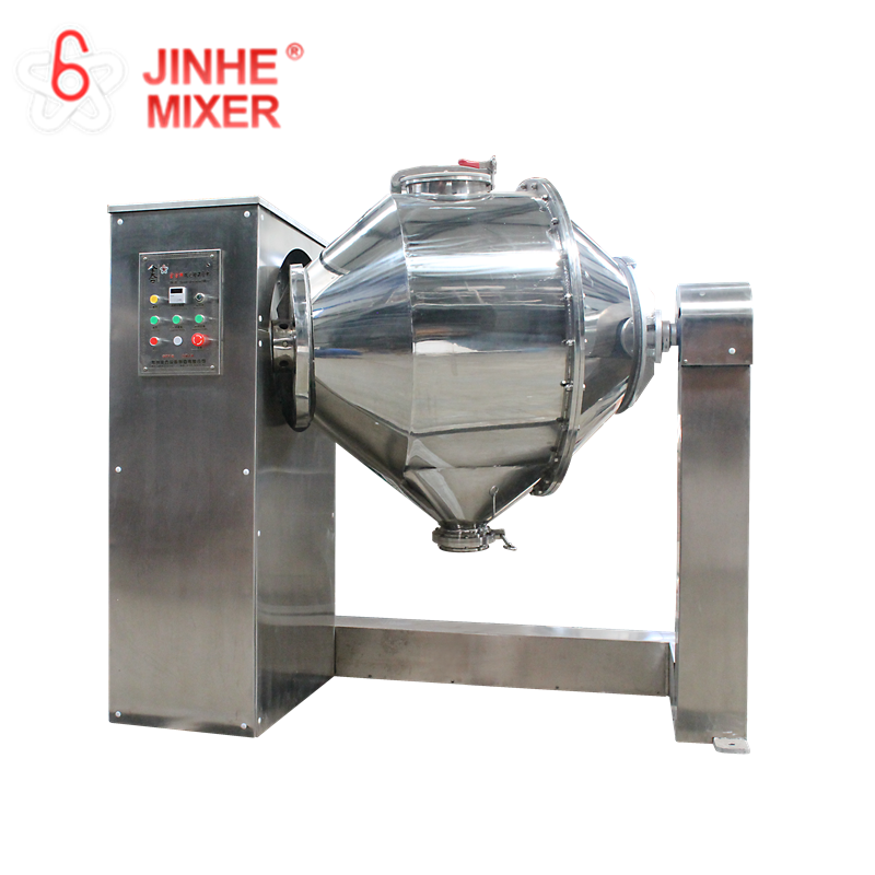 Portable mixer 35 R / min small powder mixer machine for chemical lab