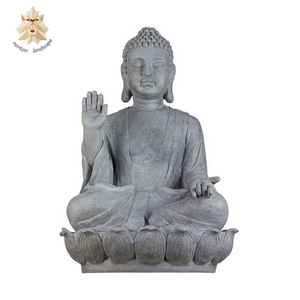 Outdoor garden decorate life size large stone Buddha statue NTBS-134Y